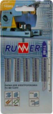 Пилка RUNEX100*75*2,5мм (ДСП, пластмасса) прямая резкаT101B