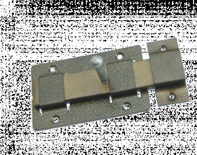 Задвижка дверная ЗД-02 цинк