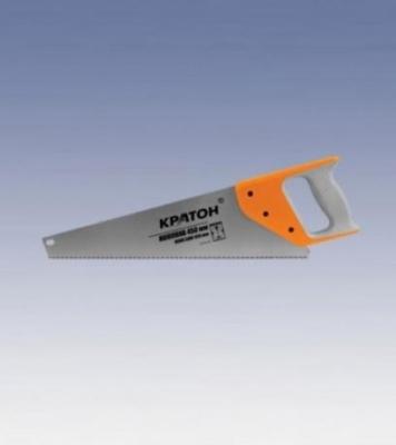 Ножовка 400 мм 'КРАТОН' 3-х гран. зуб шаг 3,6мм