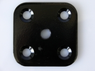 ПС-1-ЧР     Пластина соед.60*60*4 с резьб.М10,полим.,черн.