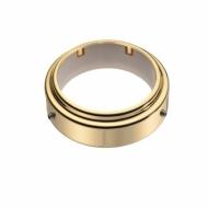 Крепёжное кольцо для трубы D50мм латунь