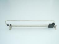 Вешалка выдвижная 300 мм хром