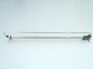 Вешалка выдвижная 450 мм хром