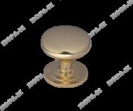 Меб. ручка-кнопка 201 (большая) золото