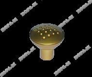 Меб. ручка-кнопка 209 (большая) золото
