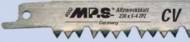 Полотно для сабел.пилы 230х210х5-6,5мм-4-5з/д закал.зуб MPS4052-5
