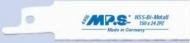 Полотно для сабел.пилы Bi-M 150х130х1,0-24з/д MPS4405-5