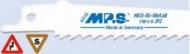 Полотно для сабел.пилы Bi-M 150х130х4,2-6з/д MPS4016-5