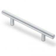 R-3020-160 SC  Ручка-рейлинг 160мм, мат.хром