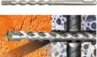 Бур SDS-plus по бетону с арматурой AX  8*110мм 'КРАТОН'