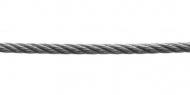 Трос DIN 3055 5мм 6х7+FC