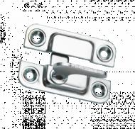 Завёртка накладная ЗФ-1 цинк правая
