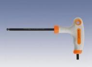 Ключ 6-гран. Т-образный  5мм  шар 'INDUSTRIAL'