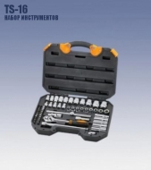 Набор инструмента TS-16  1/2' 56пр КРАТОН